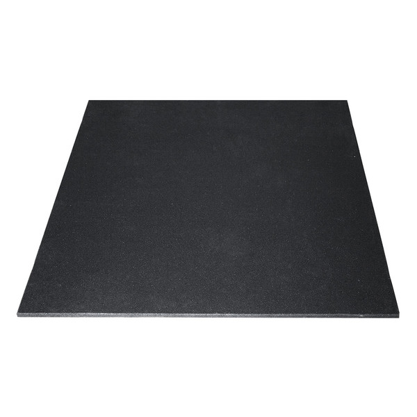 Mm black rubber gym mats