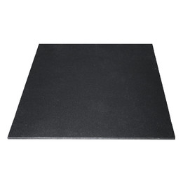 15mm Black Rubber Gym Flooring