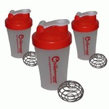 3 x 400ml Protein Supplement Shaker Bottles