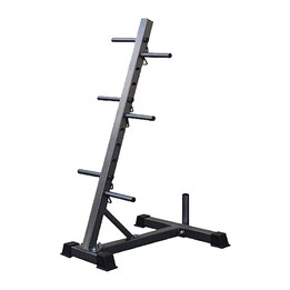 Bodyworx Standard Plate Tree with Barbell Holder