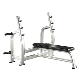 GymKing Commercial Fixed Olympic Bench Press