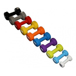 1kg to 5kg Vinyl Dumbbell Package